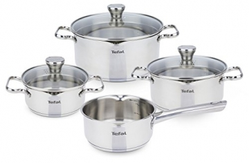 Tefal A705A8 Duetto Topfset 7-teilig, induktionsgeeignet -