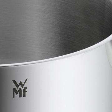 WMF Topf-Set 5-teilig Inspiration Schüttrand Glasdeckel Cromargan Edelstahl poliert induktionsgeeignet spülmaschinengeeignet -