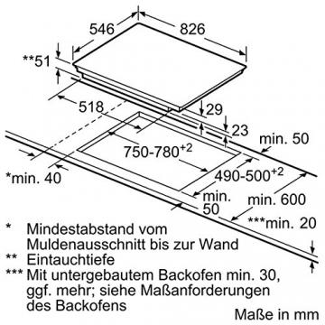 Maße - Höhe Tiefe - Neff