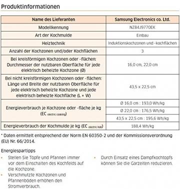 Samsung Induktion Elektro Kochfeld