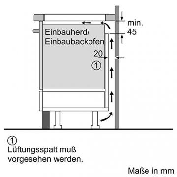 Anleitung und Bauplan Siemens Induktionskochfeld