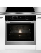 Miele Induktions Herd-Set H 6167,  7-Segment LC-Display